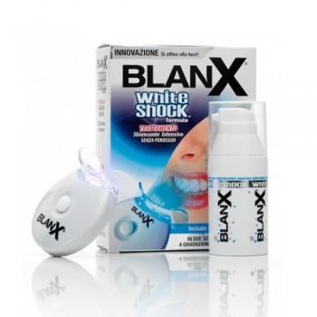Зубная паста BLANX WHITE SHOCK + LED BITE 30ml