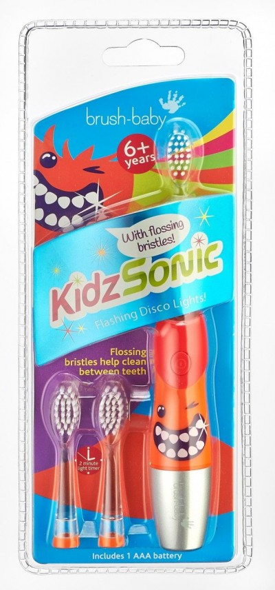 Щетка зубная электрическая звуковая (с 6 лет)